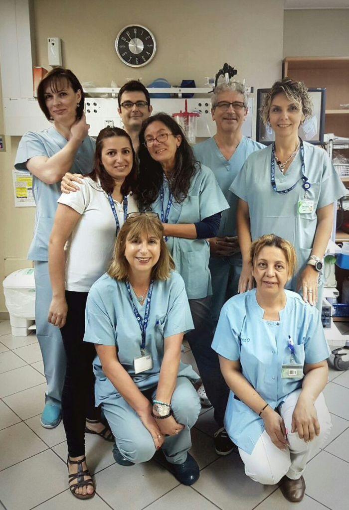 צוות גסטרו במרפאת זבולון